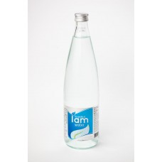 IAM WATER SCARDICA® 0.75 L,Natural Artesian Water Glass bottle, Delivery only North Macedonia
