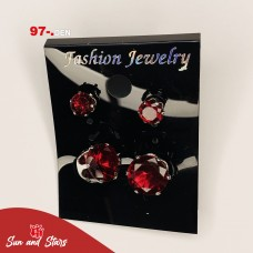 Earrings 3 pcs 97 den.