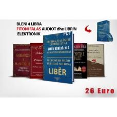 Bleni gjithë 4 Librat   Fiton Cd DJUJ+librin udherefyes në formatin elektronik Falas! 26 Euro+Posta 15 Euro ( Per Europe dhe Amerike)