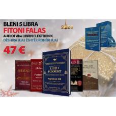 BLENI 5 LIBRAT FITONI FALAS NE EMAIL 14 AUDIOT DËSHIRA JUAJ ËSHTË URDHËRI JUAJ, DHE LIBRIN NË PDF (47EURO+Posta 23 Euro)