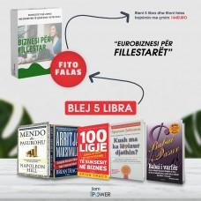 Bleni 5 librat 36 Euro fitoni falas Trajnimin Biznesi per fillestaret 144euro plotesisht falas! 36+20 Euro posta
