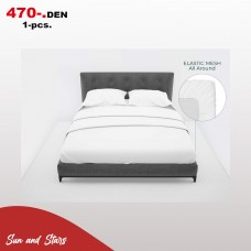 Bedsheet with elastic (160*200) High Quality for hotel use 470 den.